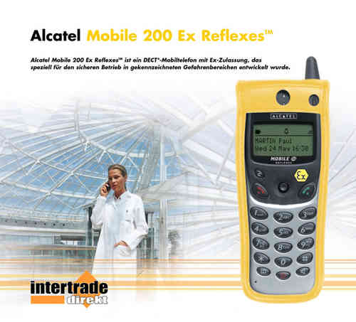 Alcatel Mobile 200 Ex Reflexes, refurbished
