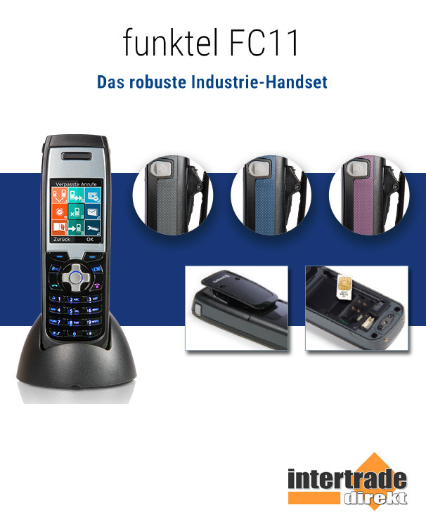 Funkwerk / funktel FC11 - Das robuste Industrie Handset